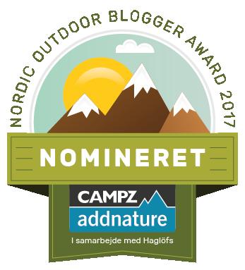 Nordic Outdoor Blogger Award 2017