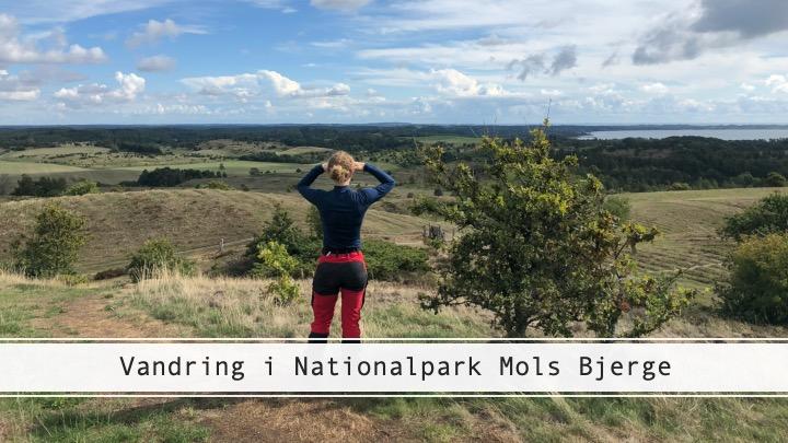 vandring i nationalpark Mols Bjerge