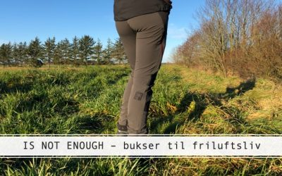 IS NOT ENOUGH: Budgetvenlige bukser til friluftsliv