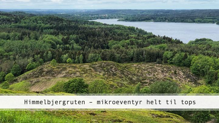 Himmelbjergruten – bjergbestigning i det danske Søhøjland