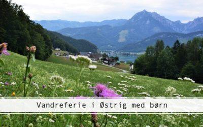 Vandreferie i Østrig med børn