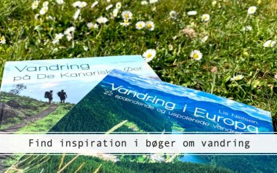 Bøger om vandring: find inspiration til næste tur