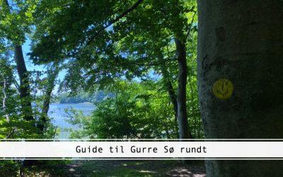 Guide til Gurre Sø rundt